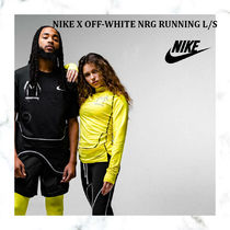【完売必須!!】NIKE X OFF-WHITE NRG RUNNING L/S - YELLOW