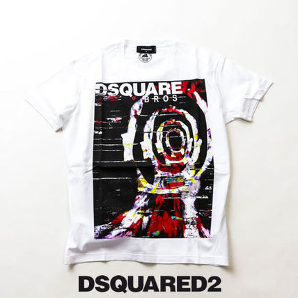 D SQUARED2 Tシャツ・カットソー DSQUARED2 オーバーサイズTシャツ Psychedelic Bros s71gd0803