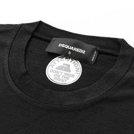 D SQUARED2 Tシャツ・カットソー DSQUARED2ディースクエアード反転ロゴプリントTシャツ s74gd0582(3)