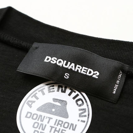 D SQUARED2 Tシャツ・カットソー DSQUARED2ディースクエアード反転ロゴプリントTシャツ s74gd0582(4)