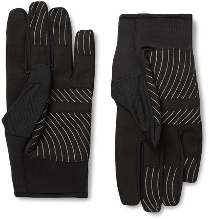Off-White 手袋 Off-White オフホワイト Active Stretch-Jersey and Mesh Gloves(2)