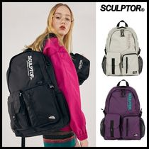 ☆SCULPTOR☆ バックパック Double Pouch Nylon Backpack