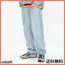 [MAHAGRID] REVERSE DENIM PANTS LIGHT INDIGO(MG1JSMD120A)