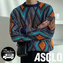 ASCLO Argyle Knit (2color) KN65 追跡付