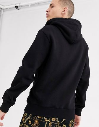 VERSACE JEANS トップスその他 Versace Jeans Couture zip thru hoodie in black(2)