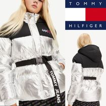 【TOMMY JEANS】メタリックジャケット