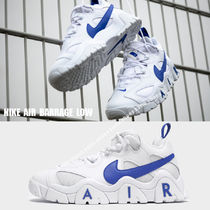NIKE★AIR BARRAGE LOW★ロゴ★レトロ★WHITE/HYPER BLUE