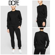 【DOPE】☆新作☆ Embossed Cropped Crew