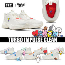 ◆大人気◆REEBOK◆BTS TURBO IMPULSE CLEAN◆UNISEX◆