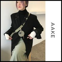 ☆AAKE☆ ジャケット RATIO STITCH JK (2size/black!)