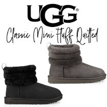 【UGG】CLASSIC MINI FLUFF QUILTED BOOT もこもこブーツ