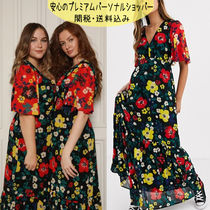 国内発送ASOS/Twisted Wunder printed maxi tea dress in floral
