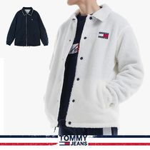 [19FW][TOMMY JEANS] リバーシブルフリースコーチジャケット