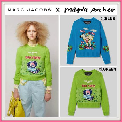 MARC JACOBS ニット・セーター MAGDA ARCHER コラボ!! ☆MARC JACOBS☆ INTARSIA SWEATER
