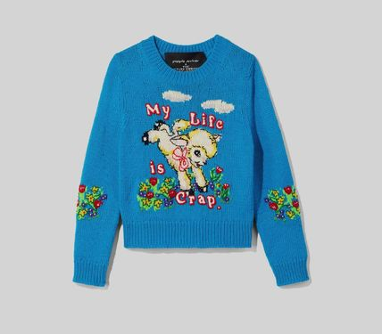 MARC JACOBS ニット・セーター MAGDA ARCHER コラボ!! ☆MARC JACOBS☆ INTARSIA SWEATER(2)