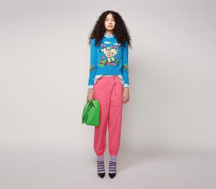 MARC JACOBS ニット・セーター MAGDA ARCHER コラボ!! ☆MARC JACOBS☆ INTARSIA SWEATER(3)