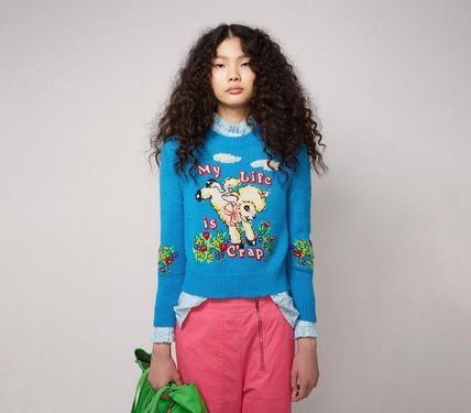 MARC JACOBS ニット・セーター MAGDA ARCHER コラボ!! ☆MARC JACOBS☆ INTARSIA SWEATER(4)