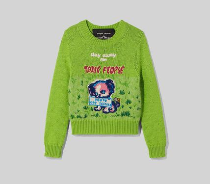 MARC JACOBS ニット・セーター MAGDA ARCHER コラボ!! ☆MARC JACOBS☆ INTARSIA SWEATER(7)