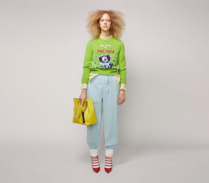 MARC JACOBS ニット・セーター MAGDA ARCHER コラボ!! ☆MARC JACOBS☆ INTARSIA SWEATER(8)