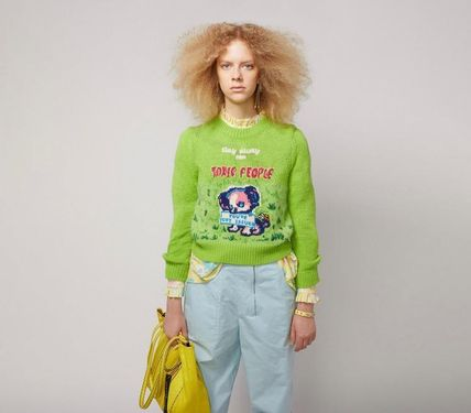 MARC JACOBS ニット・セーター MAGDA ARCHER コラボ!! ☆MARC JACOBS☆ INTARSIA SWEATER(9)