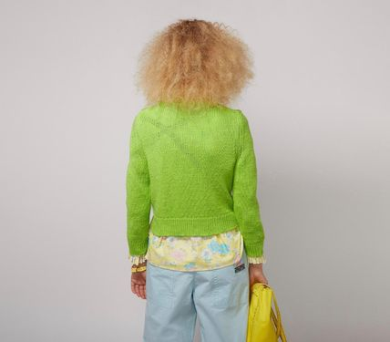 MARC JACOBS ニット・セーター MAGDA ARCHER コラボ!! ☆MARC JACOBS☆ INTARSIA SWEATER(10)