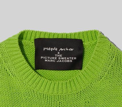 MARC JACOBS ニット・セーター MAGDA ARCHER コラボ!! ☆MARC JACOBS☆ INTARSIA SWEATER(11)
