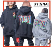 関税込☆STIGMA☆STACK OVERSIZED HEAVY SWEAT HOODIE