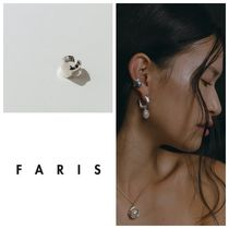 【日本未入荷!大人気!】FARIS  PLEAT EAR CUFF BRONZE