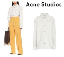 [関税・送料込] Acne Studios☆Leather overshirt