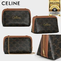 累積売上総額第1位!【CELINE】CLUTCH WITH CHAIN_10E382CCH