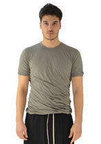 RICK OWENS RU20S7256 UC DOUBLE LAYERED T-SHIRT DUST