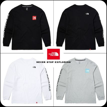 THE NORTH FACE Tシャツ・カットソー 【THE NORTH FACE】★2020SS NEW★ TNF CORE L/S R/TEE