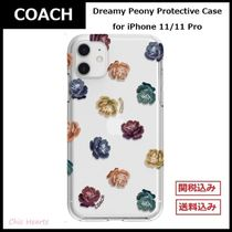 【COACH】★Dreamy Peony Protective Case★ iPhone 11/11Pro