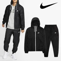 Nike Classic Essential Woven Hoodie Track Suit セットアップ