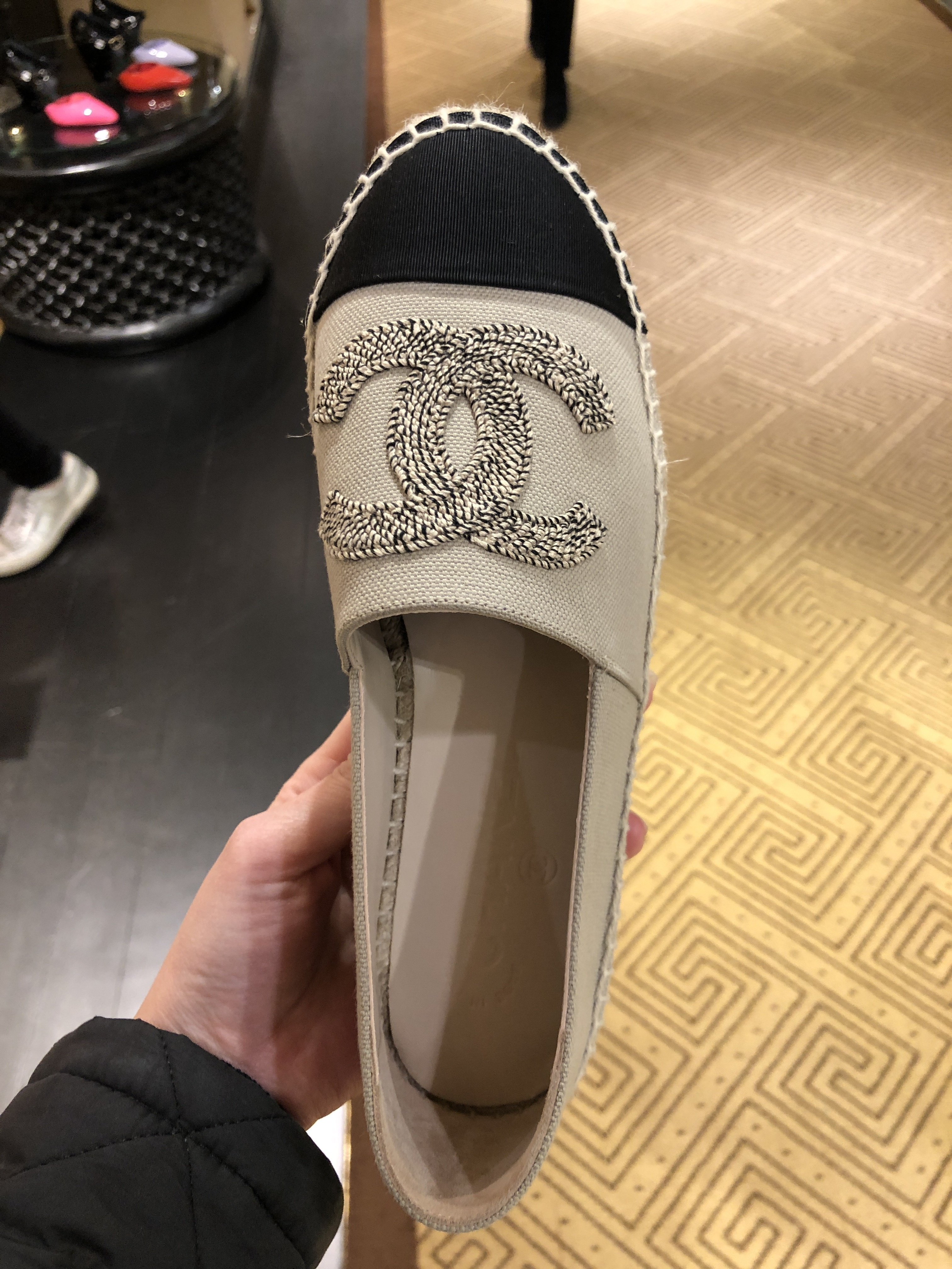 Shop CHANEL 2020 SS Slip-On Shoes by M'sselect | BUYMA