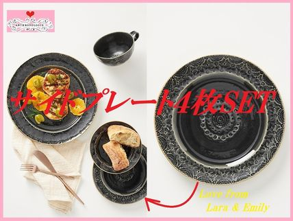 Anthropologie 食器(皿) 最安値保証*関税送料込【Anthro】Old Havana Side Plate 4枚SET
