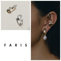 【日本未入荷/大人気!】FARIS  WARP EAR CUFF STERLING SILVER