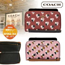 【COACH】ハートプリント iphone リストレット《2色》