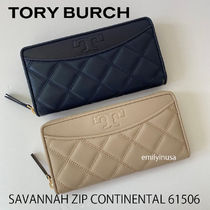 即発 TORY BURCH★SAVANNAH ZIP CONTINENTAL 61506