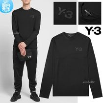 SALE 国内発送 送料関税込 Y-3 LONG SLEEVE CHEST LOGO TEE