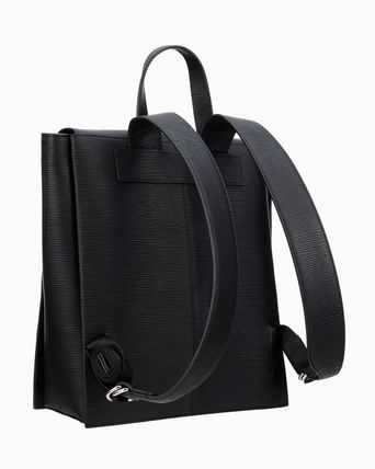 Calvin Klein バックパック・リュック ★CALVIN KLEIN★Texture Leather Backpack☆大人気・正規品☆(3)