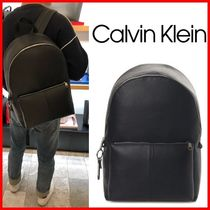 ★CALVIN KLEIN★CJK Tagged Backpack☆大人気・正規品☆