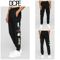 【DOPE】☆新作☆ Embroidered Floral Sweatpants