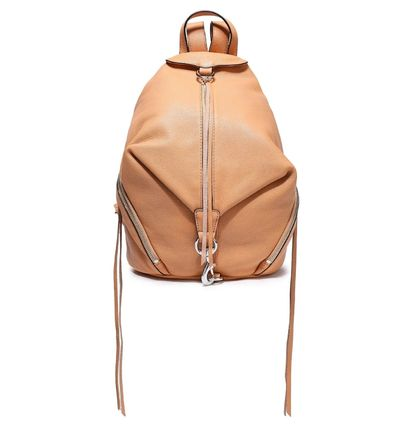Rebecca Minkoff バックパック・リュック ★レベッカミンコフ★Zip-detailed textured-leather backpack