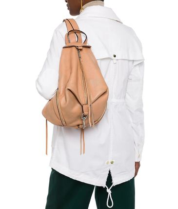 Rebecca Minkoff バックパック・リュック ★レベッカミンコフ★Zip-detailed textured-leather backpack(2)