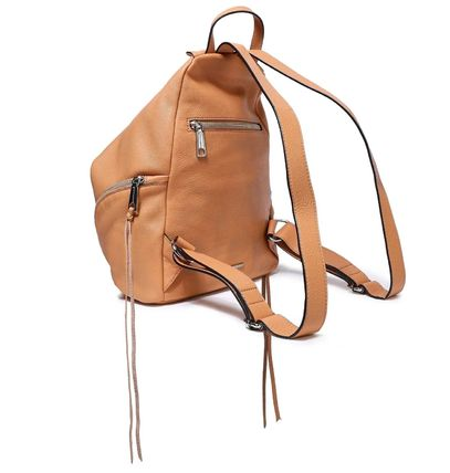 Rebecca Minkoff バックパック・リュック ★レベッカミンコフ★Zip-detailed textured-leather backpack(3)
