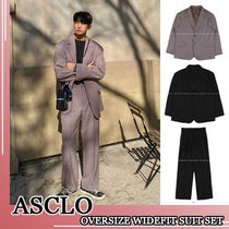ASCLO★韓国の人気★SINGLE BUTTON SUIT SET 3色