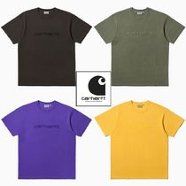 【CARHARTT WIP】20新作 EMBROIDERY 刺繍 Tシャツ 4colors
