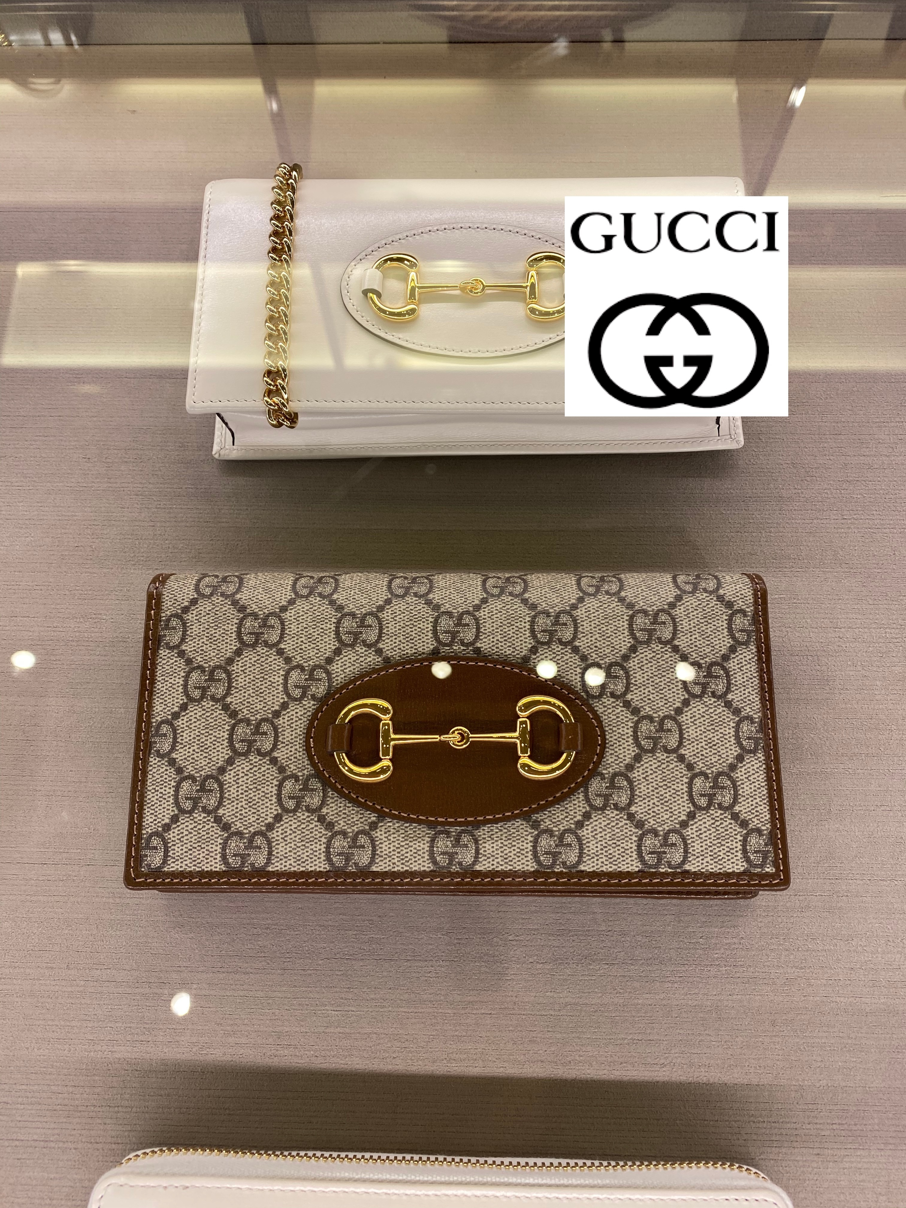 Gucci★ 1955 Horsebit wallet with chain (GUCCI/財布・小物その他) 621892