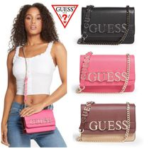 Guess(ゲス) ショルダーバッグ・ポシェット ☆GUESS☆新作♪ロゴ可愛い☆クロスボディバッグ☆ETEREO☆